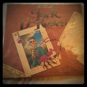 ROBERT HUNTER Jack O' Roses LP